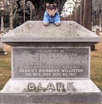 クラークの墓
